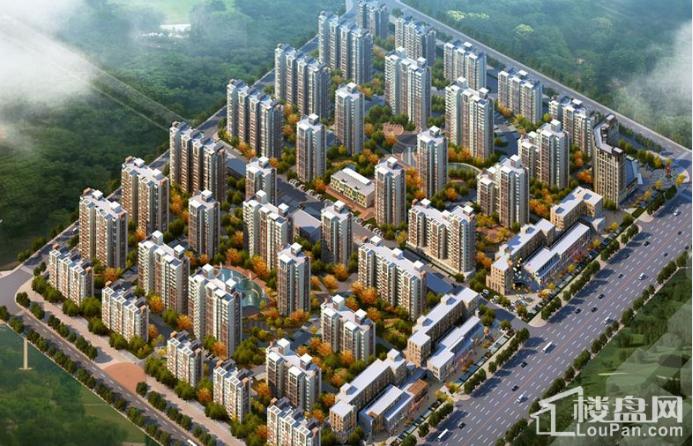宏泰·龙河枫景效果图