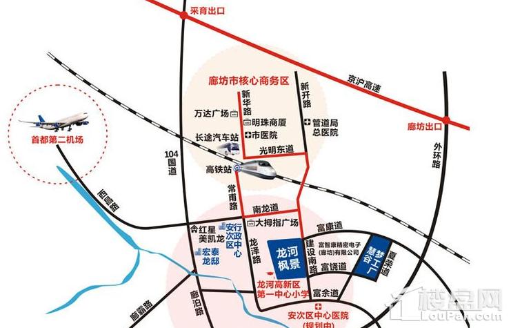 宏泰·龙河枫景位置图