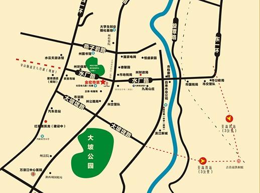 金宏·帝景第三期位置图