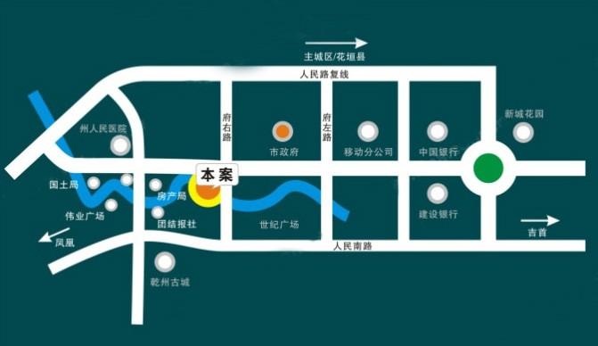 湘泉纯水岸位置图