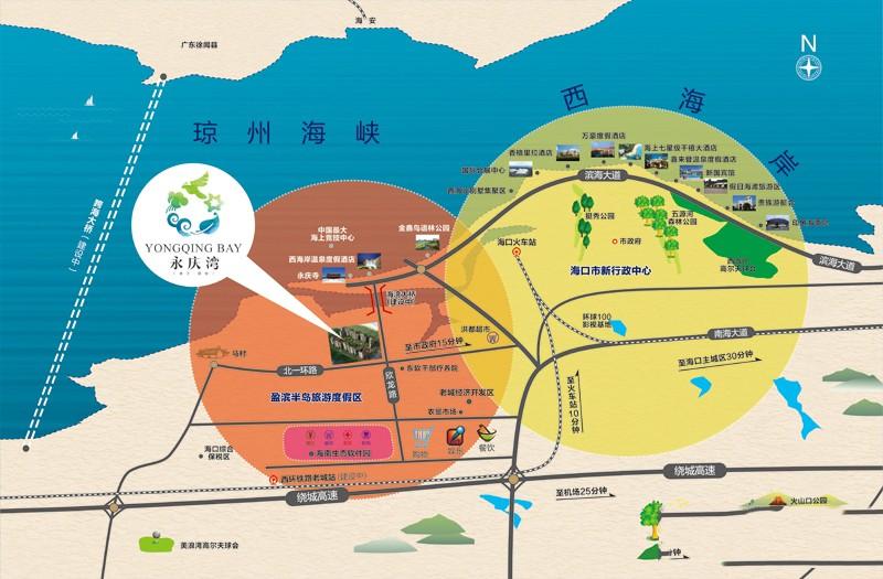 永庆湾位置图