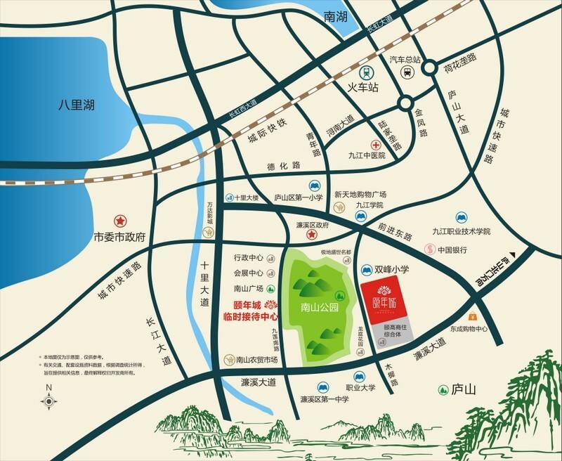 国颐·颐年城位置图
