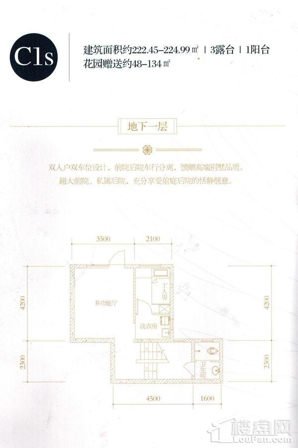 C1s户型(负一层)
