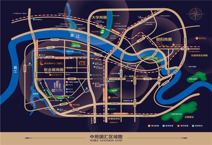 中昂国汇位置图