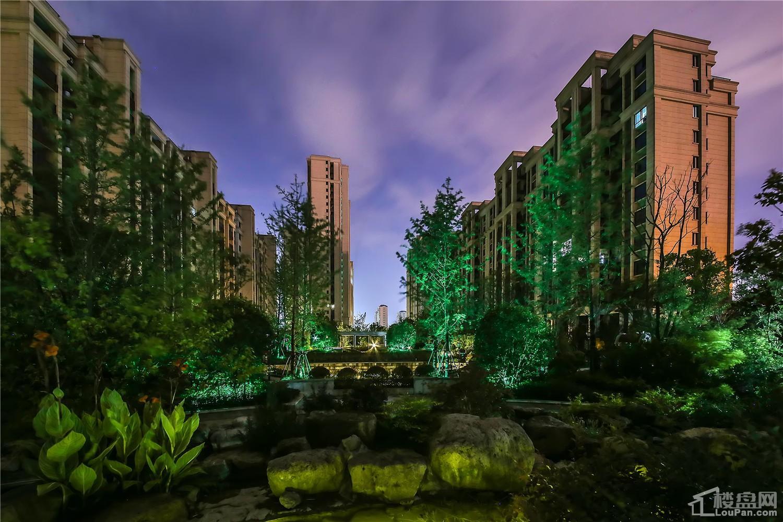 湖海城市花园实景图