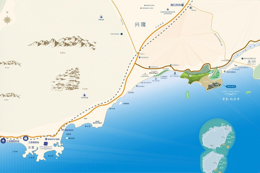 华凯南燕湾位置图