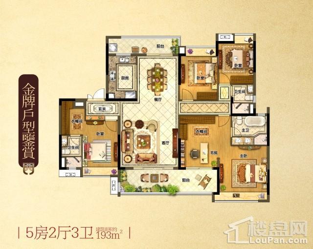 5房2厅3卫193㎡