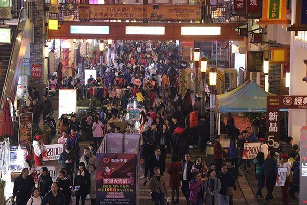 柳州万达广场实景图