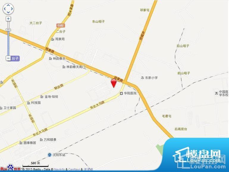 沈阳国瑞城位置图
