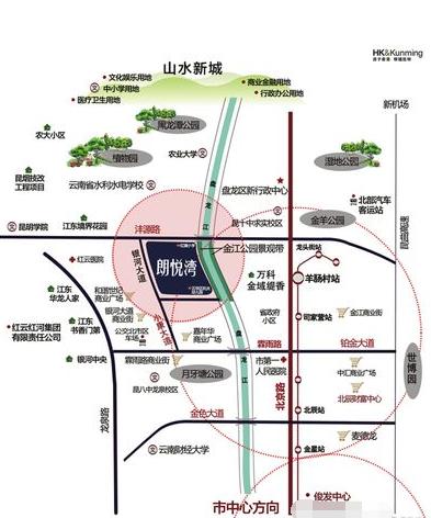 德润朗悦湾位置图