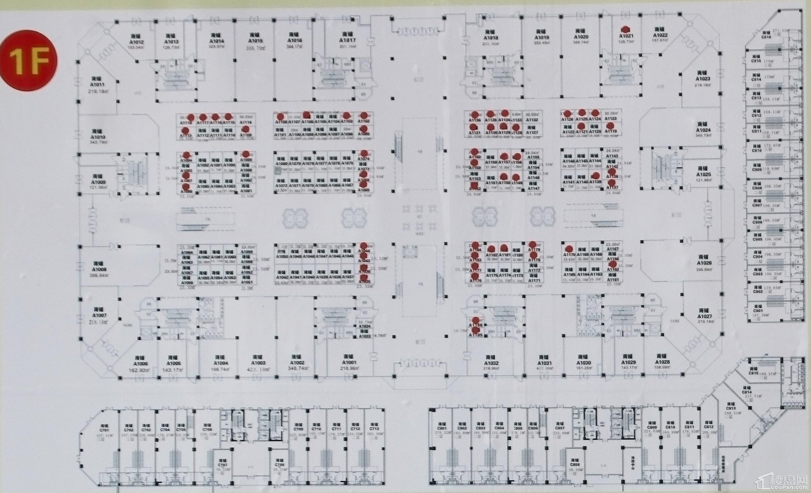 东盟国际商贸城户型图