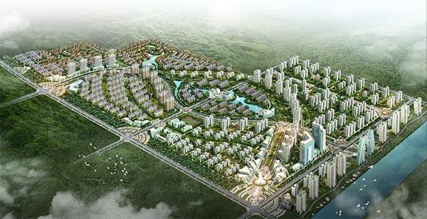 日照尚京新城高清图