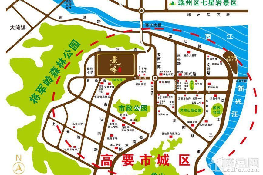景峰家园位置图