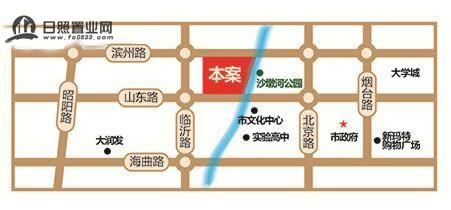 京泰盘龙湾(三期龙郡)位置图