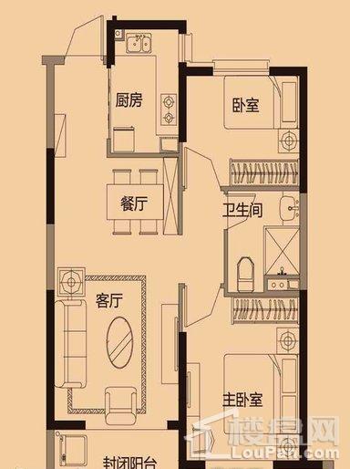 13#2-1户型