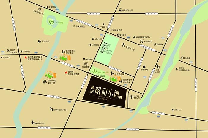 昭阳小镇位置图