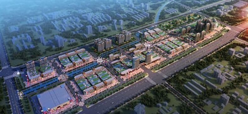五洲国际工业博览城效果图