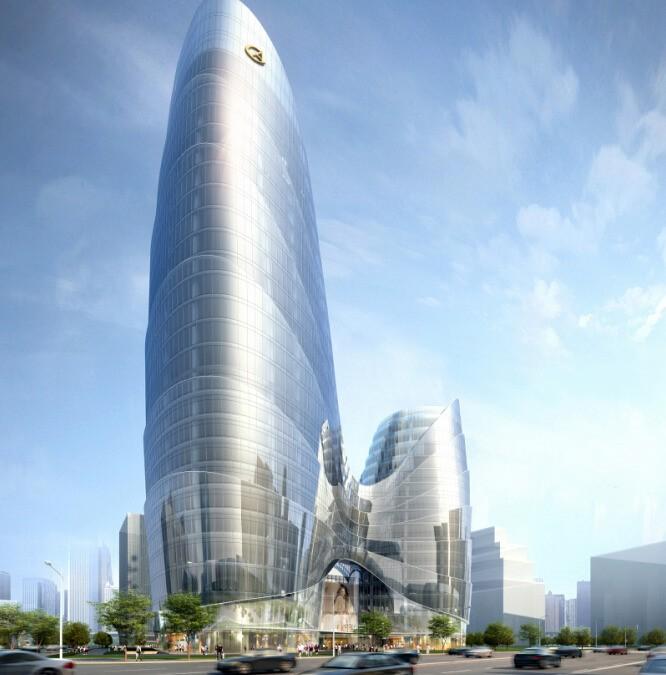 华策国际大厦效果图