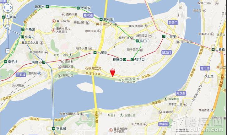 滨江壹号位置图