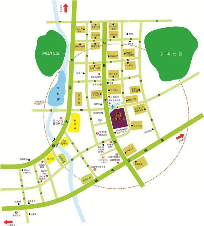 金伯利中心位置图