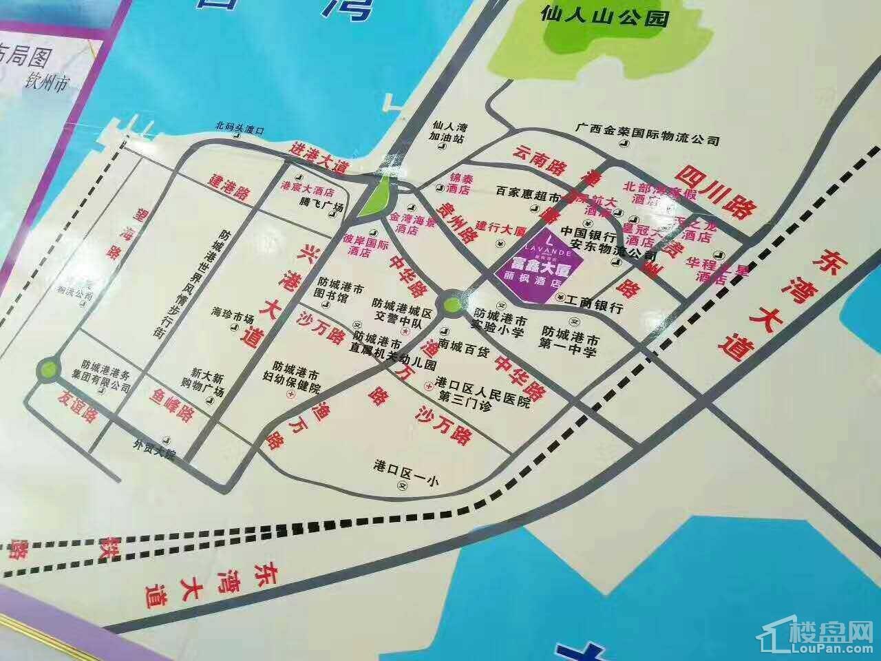 富鑫·丽枫酒店位置图