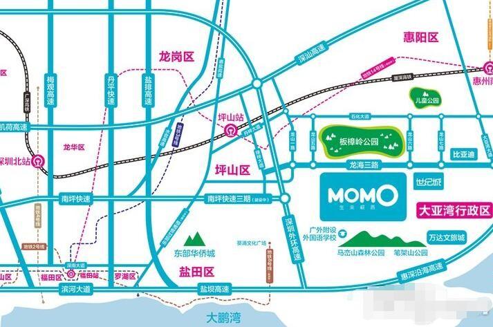 MOMO世纪大厦位置图