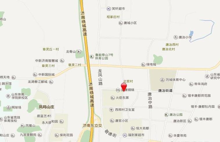 龙湖·春江悦茗位置图
