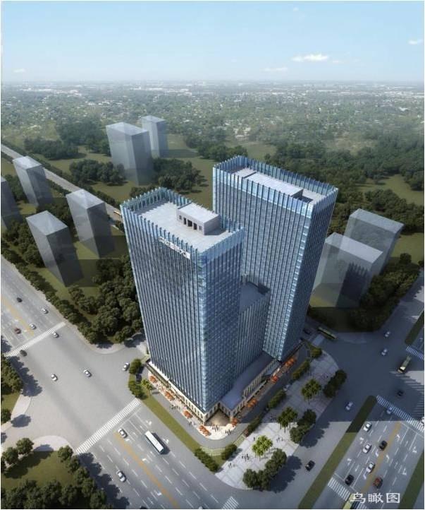 中欧国际大厦效果图