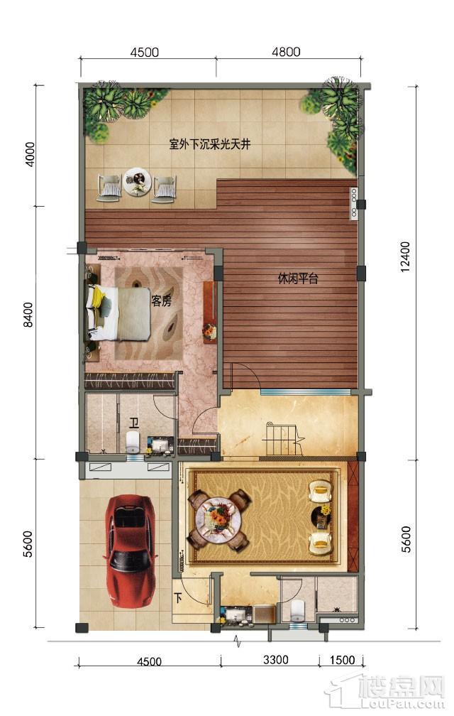 碧桂园·珊瑚宫殿户型图