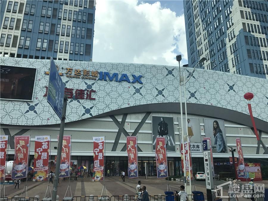江南万达广场实景图(摄于2017.6.24)
