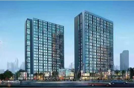 蓝山国际公寓效果图