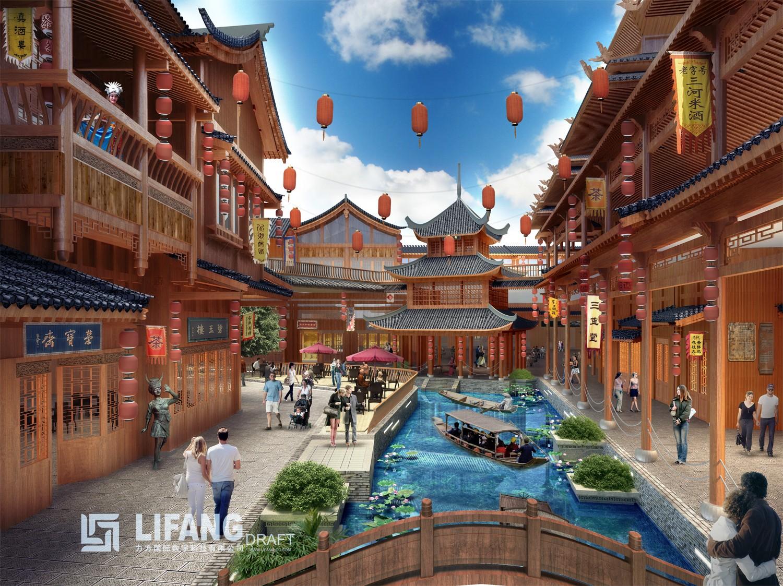 江华·国际旅游中心配套图