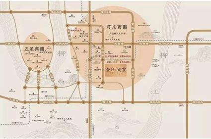 金科·天宸位置图