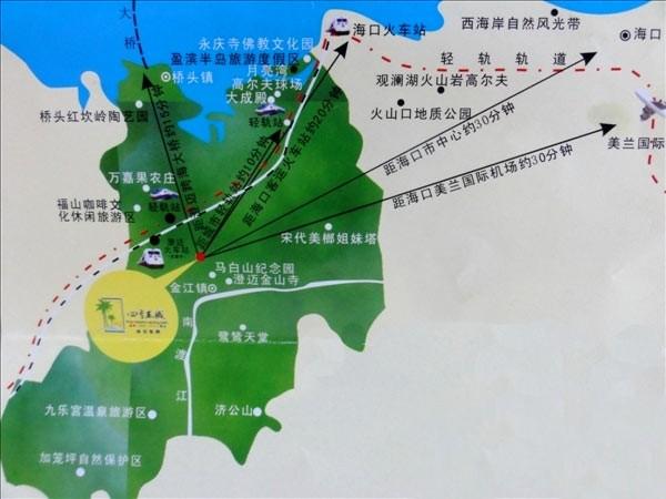 四季春城位置图