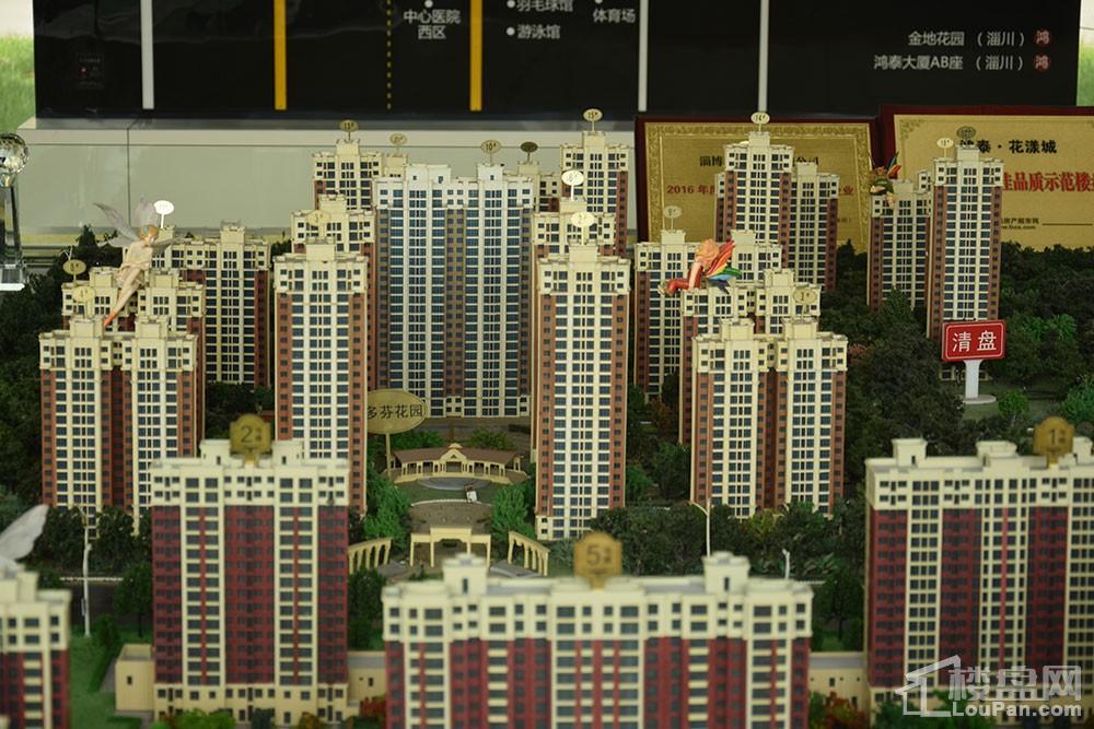 鸿泰·花漾城三期实景图