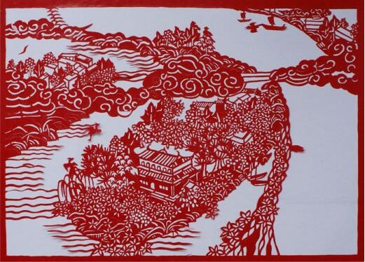 """雁湖之美:剪纸大师刘伟南,一把剪刀""""剪""""出缤纷世界"""