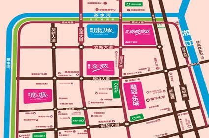融冠·康城位置图