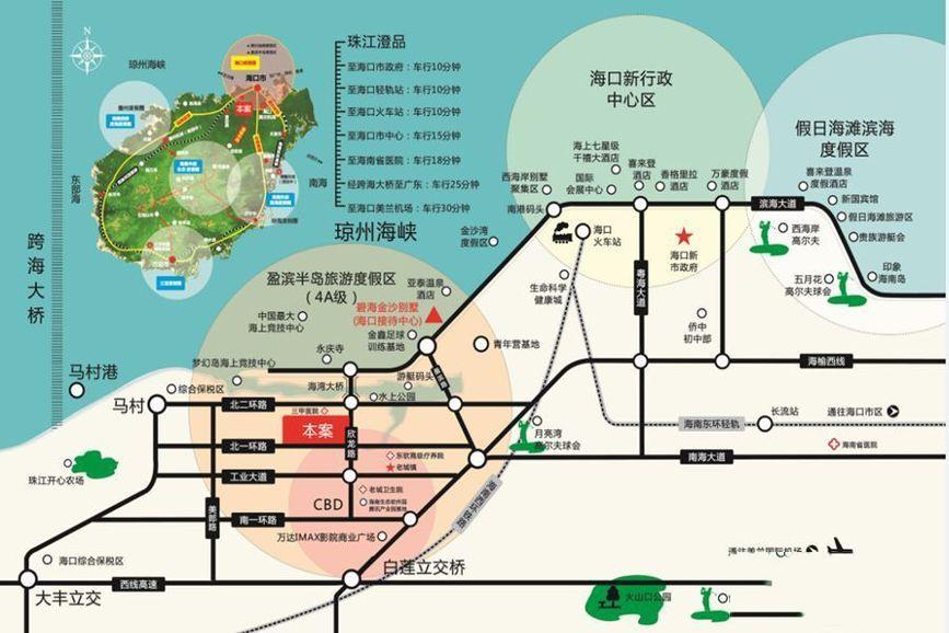 珠江澄品位置图