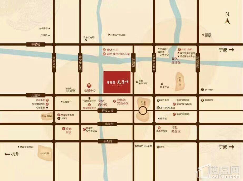 碧桂园·天誉华府位置图