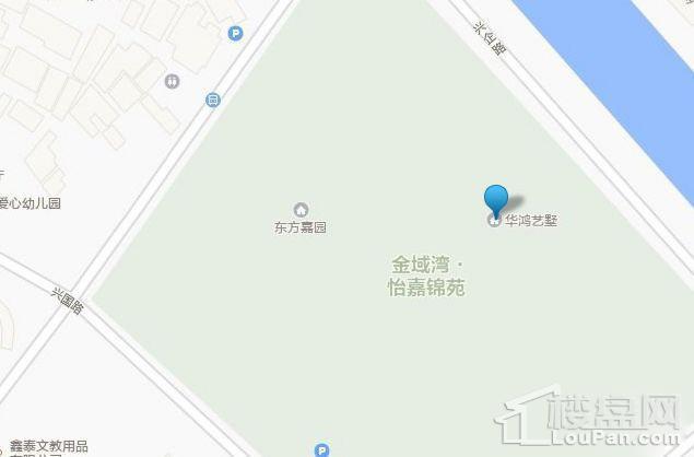 华鸿·艺墅位置图