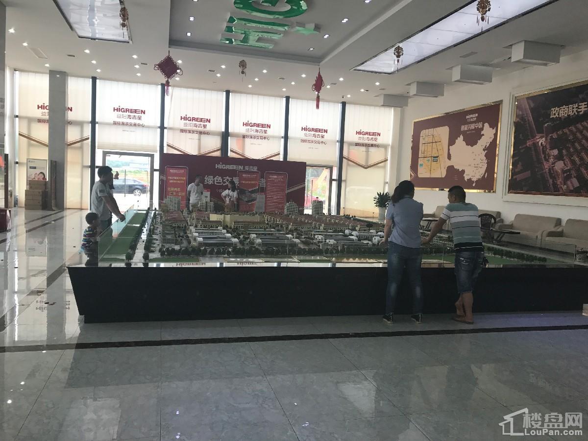 益阳海吉星农产品物流园实景图