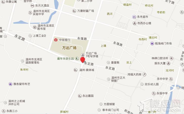 龙湾奥体城位置图