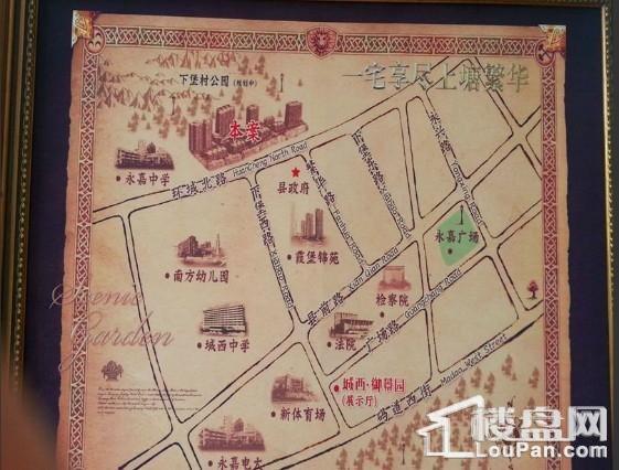 城西·御景园位置图