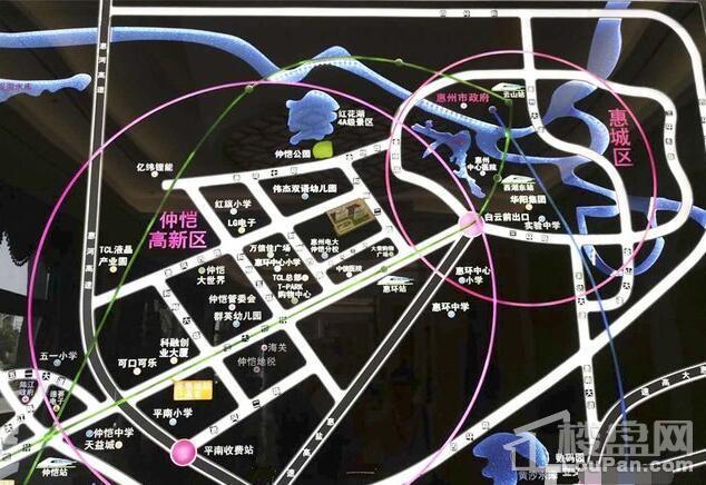 凯尊公馆位置图
