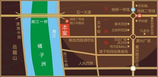 江与城位置图