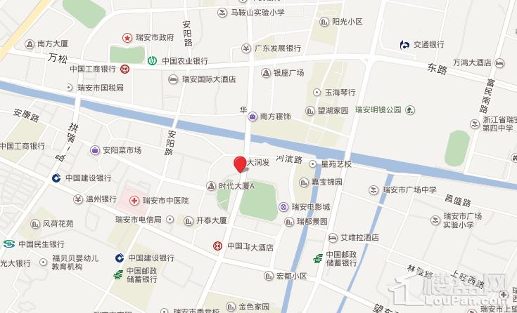 华鸿·安阳城位置图