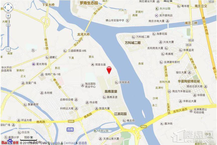 东建·锦绣龙湾位置图