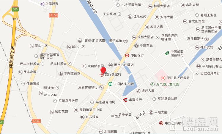 嘉乐·平阳首府位置图