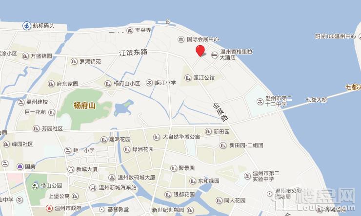 宏地·金玉府位置图