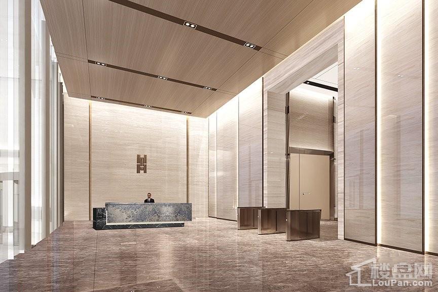 GT-Tower西安国际人才大厦效果图